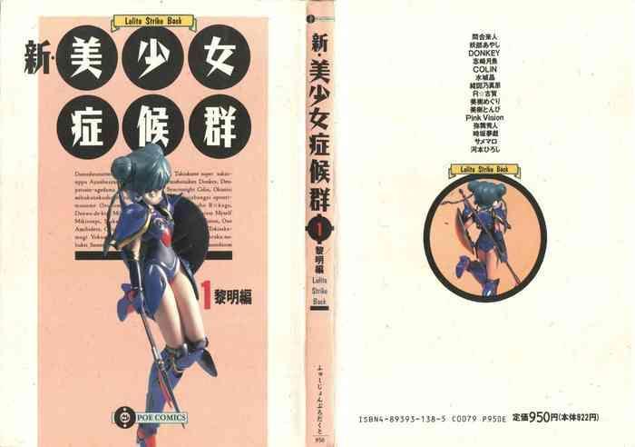shin bishoujo shoukougun 1 reimei hen cover