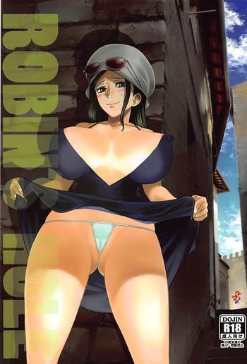 Uncensored ROBIN'S HOLE- One piece hentai Nice Tits